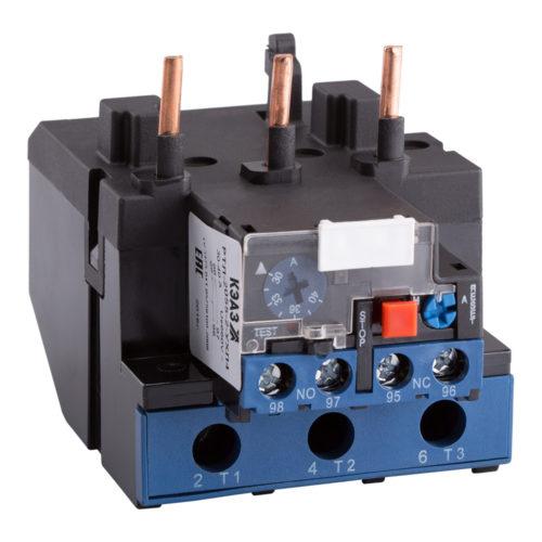 Реле перезагрузки тепловое РТЛ с уровнем защиты IP20 на номинальный ток 100А