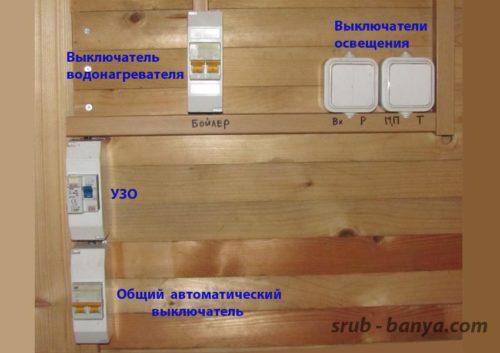 Применение ППВ для проводки в бане