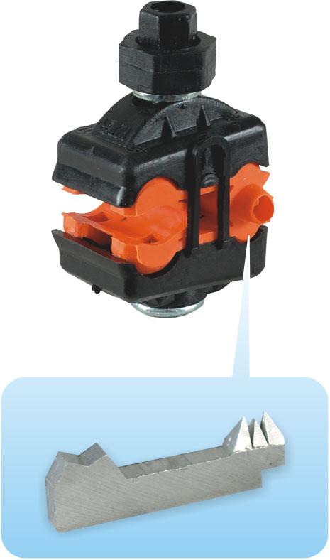 прокалывающий зажим SIP для голых проводов