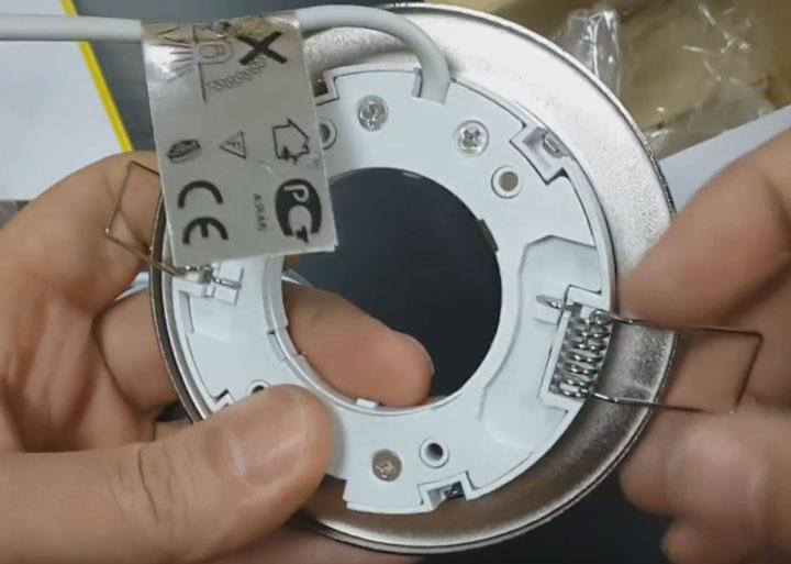 плохой крепеж на GX 53 H6