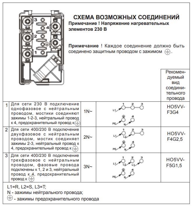 схема подключения варочной панели hansa