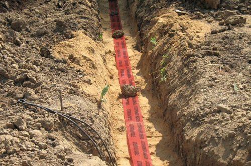 Лента ЛСЗ поможет предотвратить случайное повреждение кабельной линии в земле