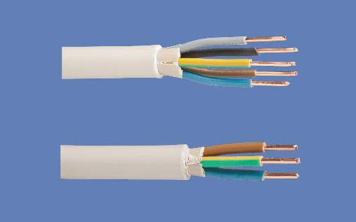 строение кабеля NYM