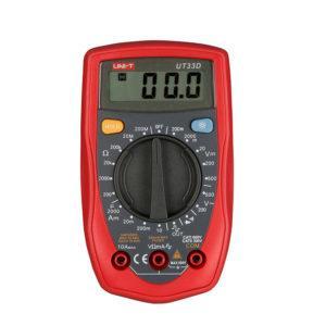 Мультиметр модели UT33Д