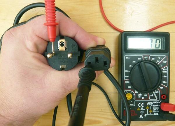 прозвонка кабеля мультиметром