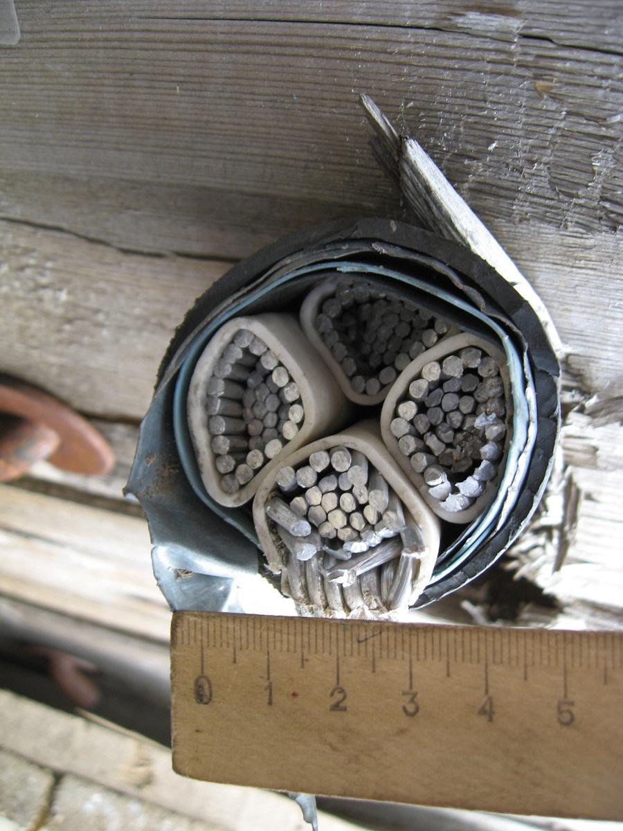 Перед покупкой кабеля необходимо тщательно определить нагрузку