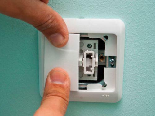 По завершении основных работ остается только установить на место клавиши выключателя