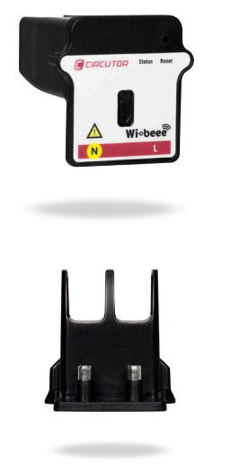 внешний вид и контакты устройства wibeee